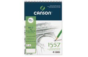 ΜΠΛΟΚ CANSON SKETCH  A4 120gr 50Φ